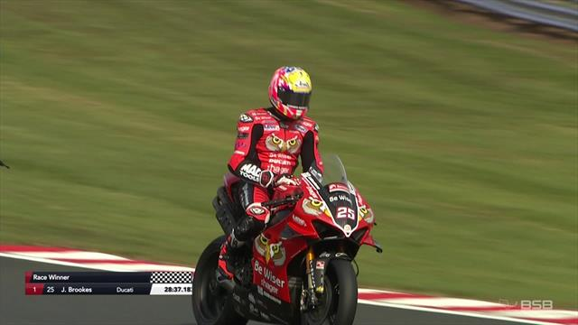 Brookes does the Oulton Park double with victory in Race 2