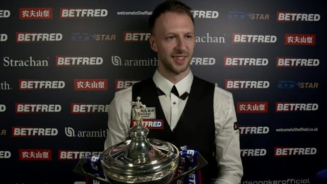 Trump - 'I couldn't have dreamt of playing better snooker in the final'