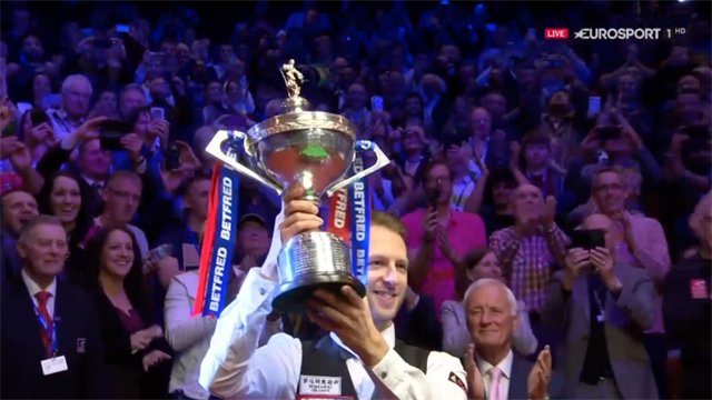 Reaction from Judd Trump and John Higgins after incredible World Snooker Championship final!