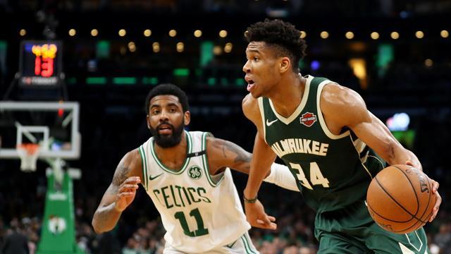 Giannis et les Bucks impressionnent, les Rockets reviennent à hauteur des Warriors
