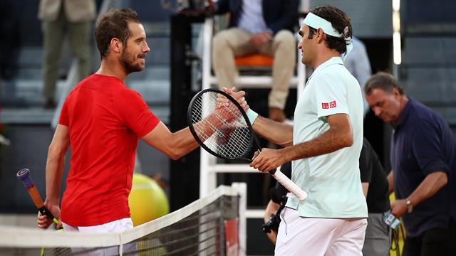 Pour son retour sur l'ocre, Federer a vite retrouvé ses sensations