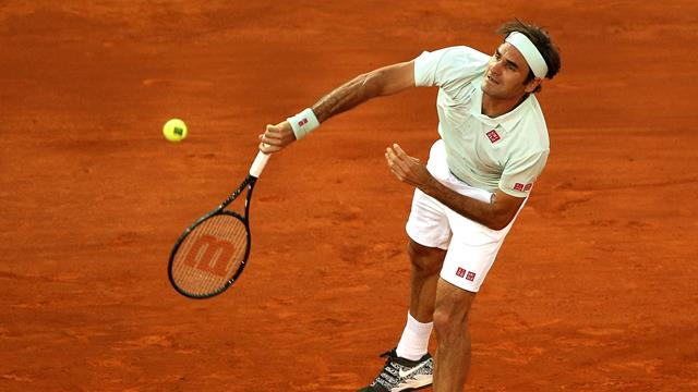 Federer coasts in return to clay at Madrid
