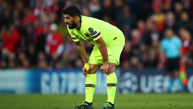 'Liverpool legend' – Suarez injures Robertson, substitute scores twice