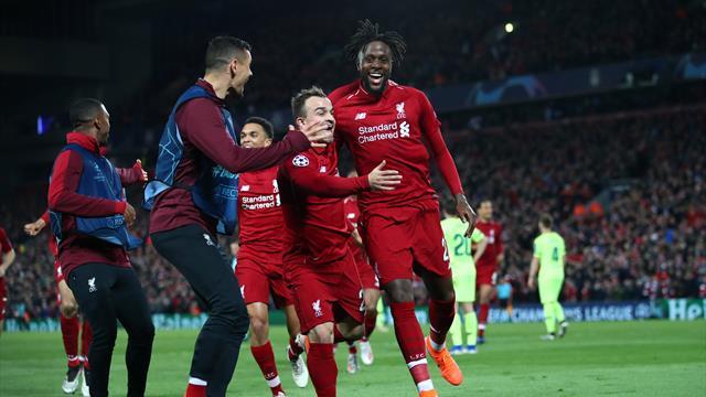 'That Liverpool corner was dirtttty' - Twitter reacts to ingenious routine