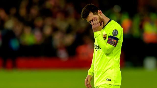 """Messi : """"On ne s'est pas encore remis de ce qu'il s'est passé à Liverpool"""""""