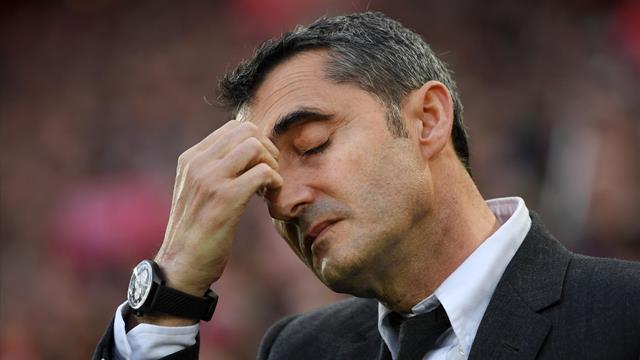 Barcellona, Ernesto Valverde rischia l'esonero dopo la sconfitta di Liverpool
