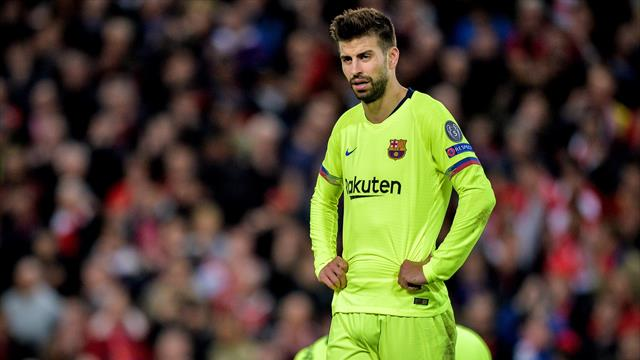 """La dura confesión de Piqué tras la debacle del Barça en Anfield: """"Fue una pesadilla"""""""