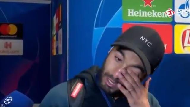 Las lágrimas de Lucas Moura al ver por primera vez su gol que clasificó al Tottenham para la final