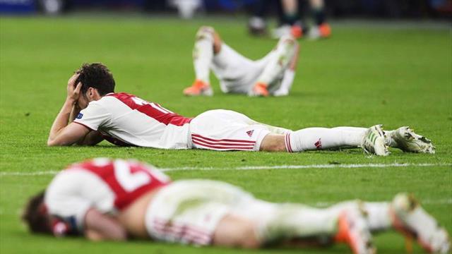 Adiós al Ajax, el equipo que trajo la alegría a la Liga de Campeones