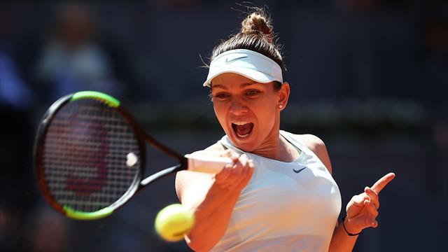 Simona Halep se qualifie pour la finale en écartant Belinda Bencic — Madrid