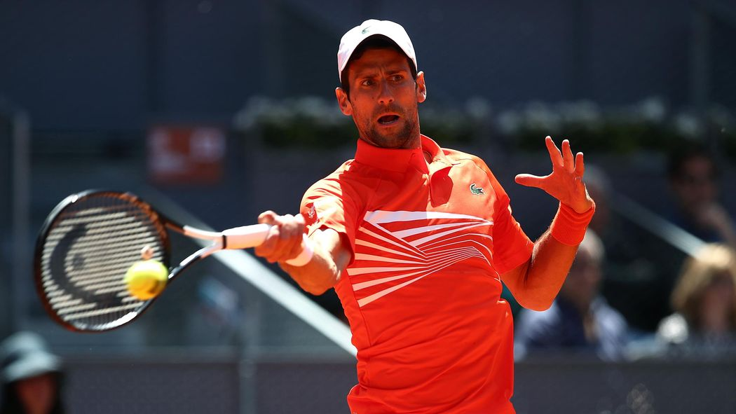 exquisite style cute cheap quality products Novak Djokovic in Madrid Open semis after Marin Cilic food ...
