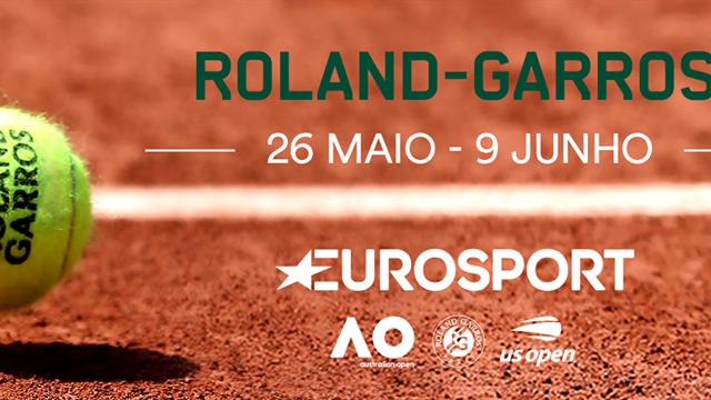 Vá a Roland Garros com o Eurosport e o MEO