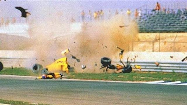 """Drames, 6 roues, F1 explosée, Mansell """"enfoiré""""... Les improbables du GP d'Espagne"""