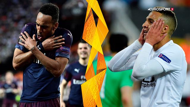 Highlights: Arsenals knivskarpe angrebsduo sender The Gunners i Europa League-finalen