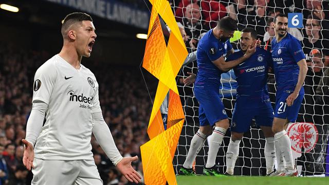 Highlights: Chelsea er i Europa League-finalen efter straffesparksdrama på Stamford Bridge
