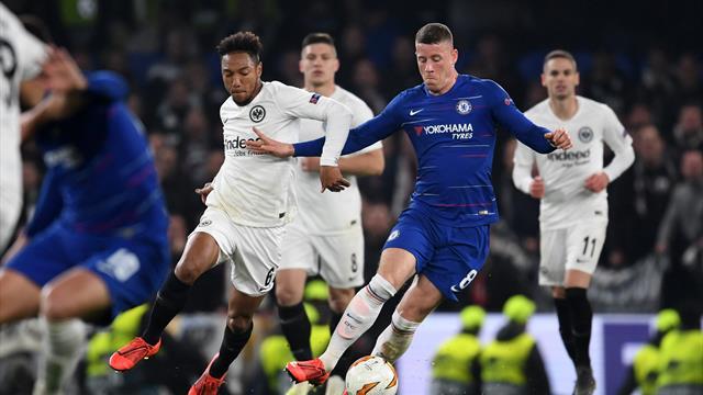 Europa League: Höjdpunkter : Chelsea vs Frankfurt