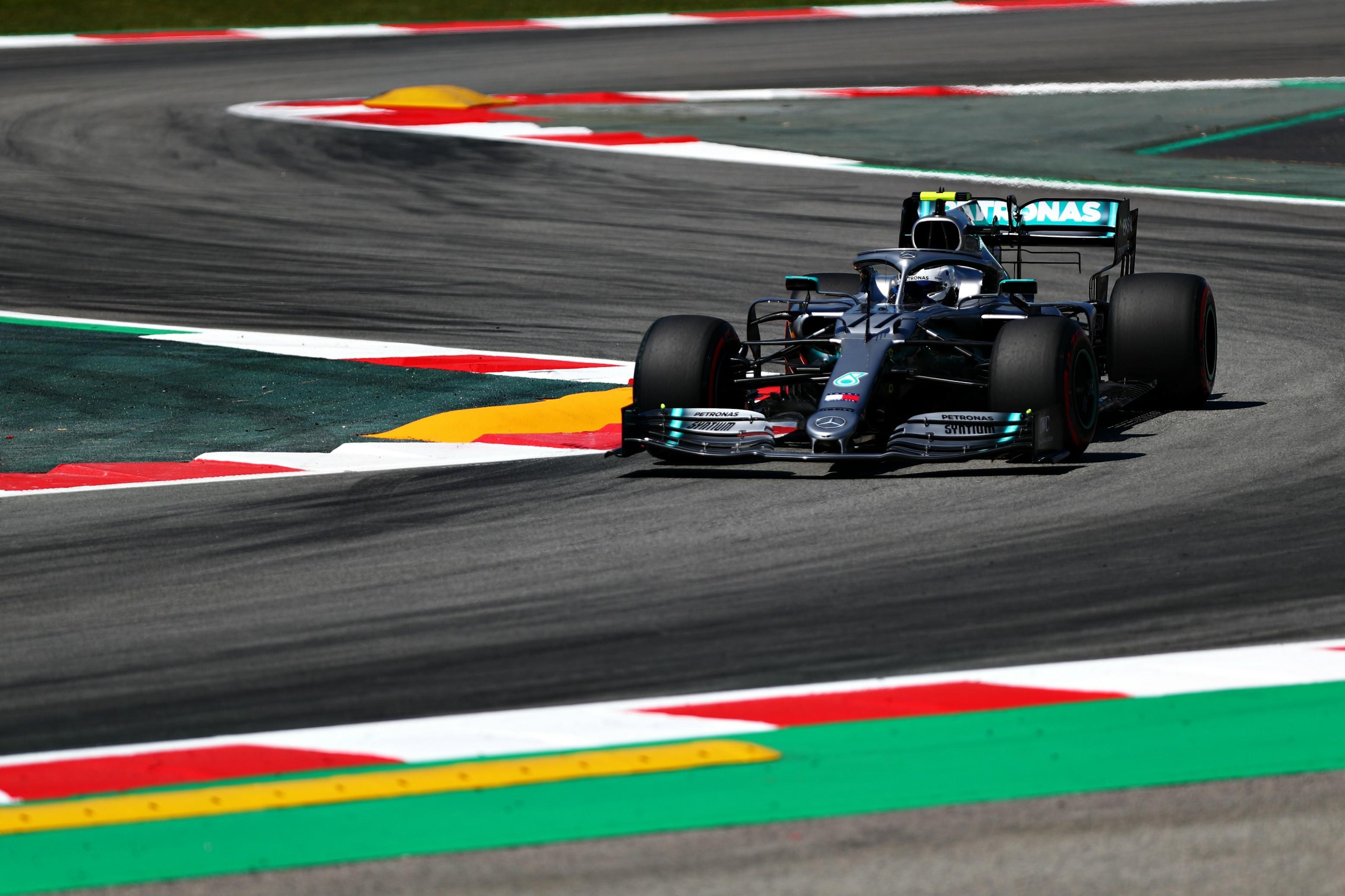 Valtteri Bottas (Mercedes) au Grand Prix d'Espagne 2019
