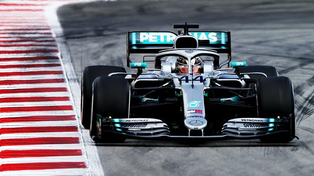 Hamilton wins in Spain as Mercedes dominance continues