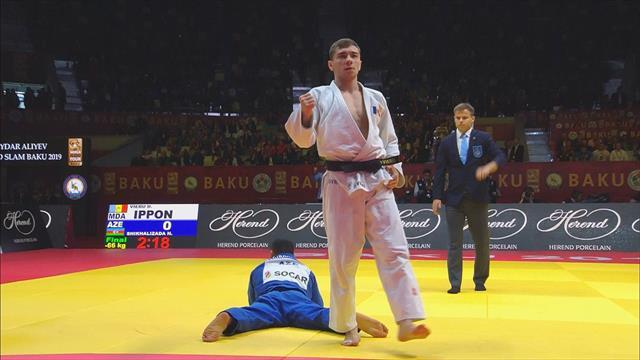 Baku Grand Slam: Moldova's Denis Vieru wins -66 kg gold