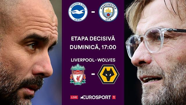 Etapa finală a Premier League e în direct pe Eurosport 1