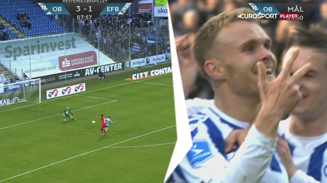 Highlights: Dobbelt op på Kløve da OB ordnede Esbjerg med hele 4-1
