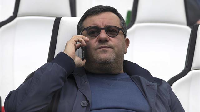 Raiola, la Fifa estende la squalifica in ambito internazionale