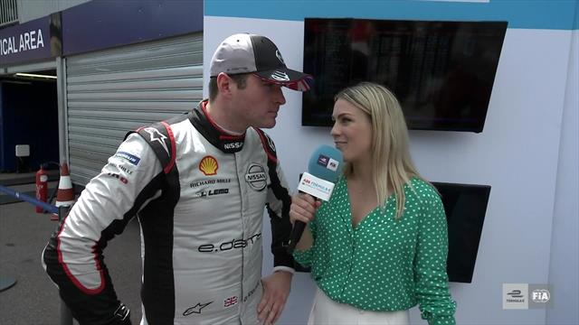 Rowland: I have to be happy with third pole, even with penalty