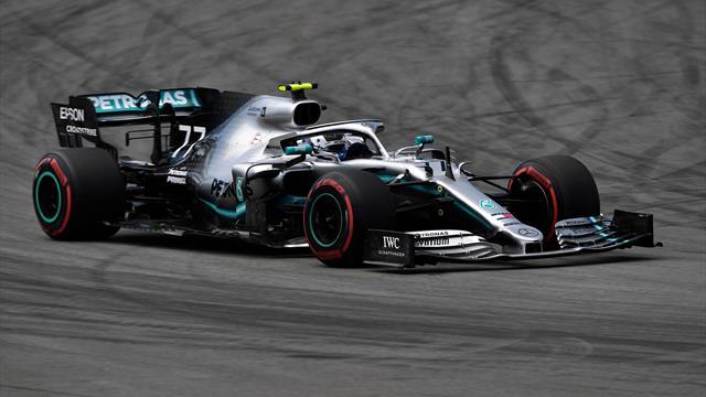 Bottas claims pole for Spanish GP