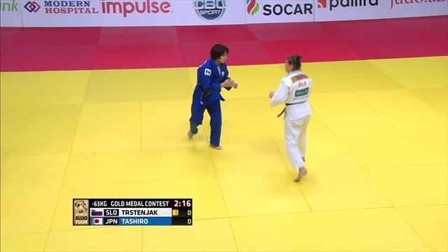 Tashiro Miku claims gold in beating Tina Trstenjak