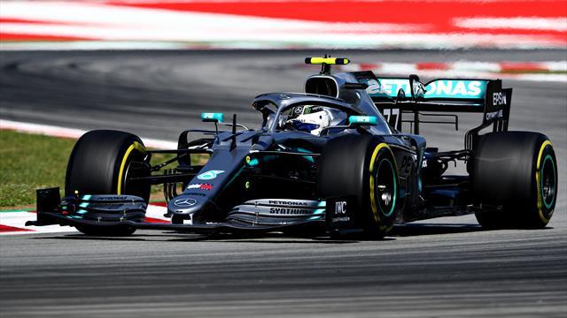 Bottas assomme Hamilton et Ferrari