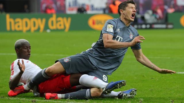 Millimeter-Entscheidung: Bayern lässt Matchball in Leipzig liegen