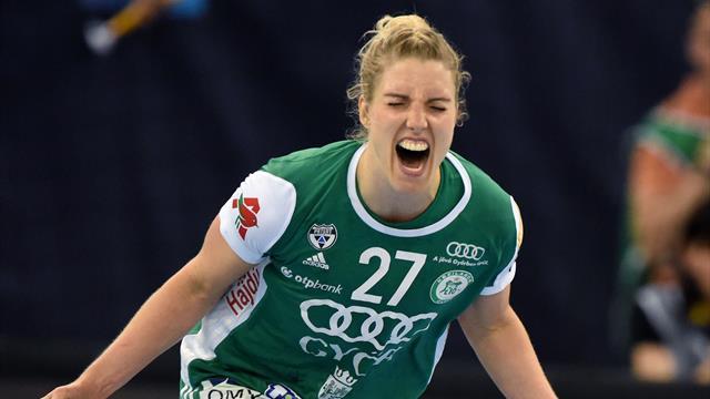 Györ et Amandine Leynaud en finale