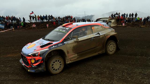 World championship leader Neuville crashes out in Chile
