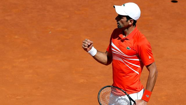 Masters Roma 2019, Novak Djokovic-Denis Shapovalov: Que pase el siguiente (6-1 y 6-3)