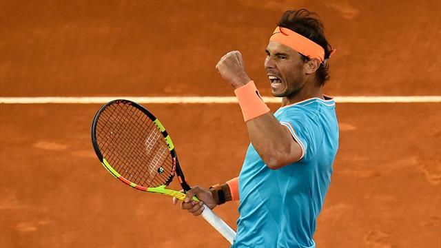 💪 Nadal arrolla a Chardy en su debut en Roma en un partido casi al nivel del mejor Rafa (0-6 y 1-6)