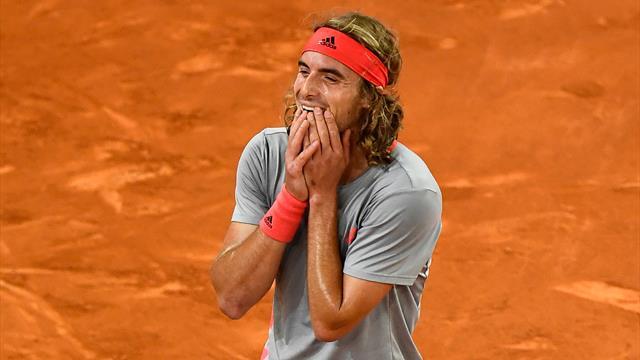 Celle-là, Tsitsipas s'en souviendra : les temps forts de sa victoire contre Nadal