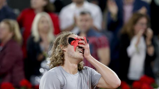 Nadal beaten by Tsitsipas in Madrid