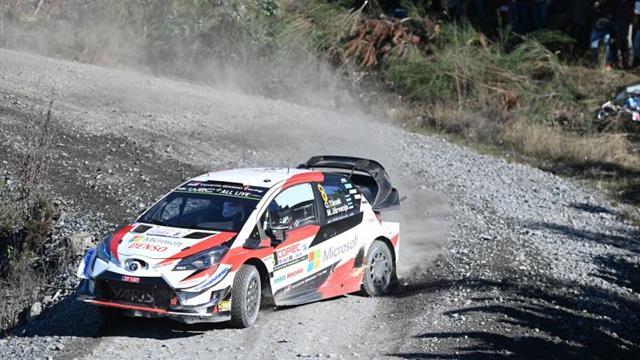 Tänak mantiene el liderato y Neuville abandona el Rally de Chile