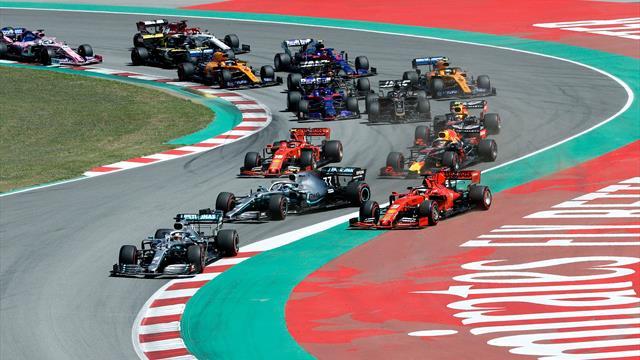 Hamilton au taquet, Vettel en perdition : revivez le départ animé du GP