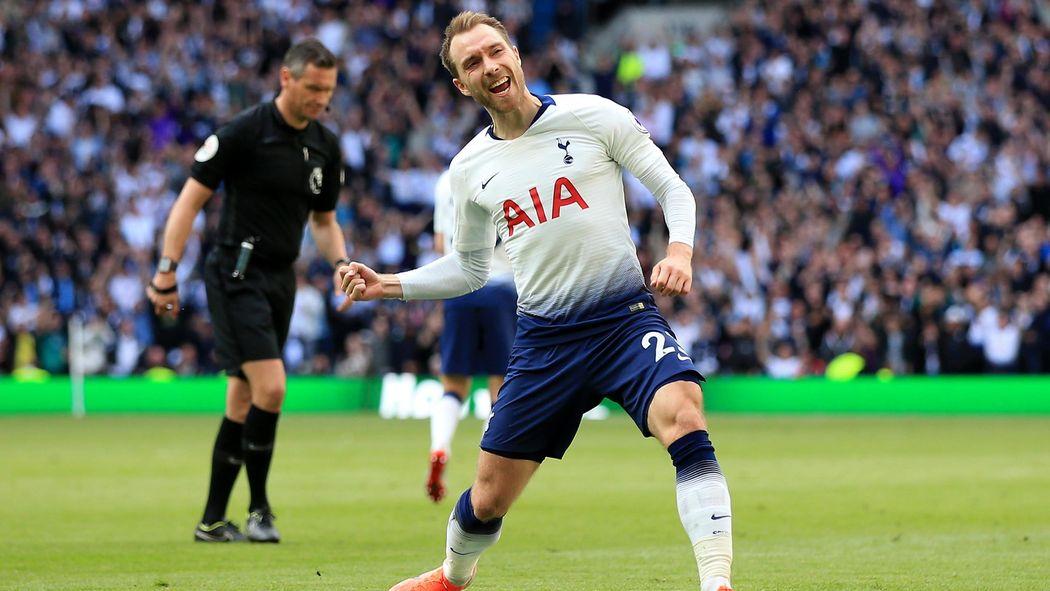 dd5a2d1f Tottenham finish fourth after dramatic draw against Everton - Premier  League 2018-2019 - Football - Eurosport UK