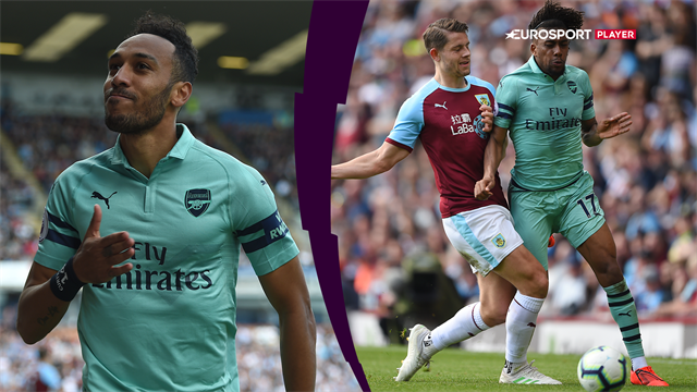 Highlights: Arsenal sikrede sig femtepladsen efter to Aubameyang-mål