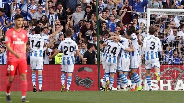 LaLiga, Real Sociedad-Real Madrid: Unos sueñan con Europa, otros con que se acabe (3-1)