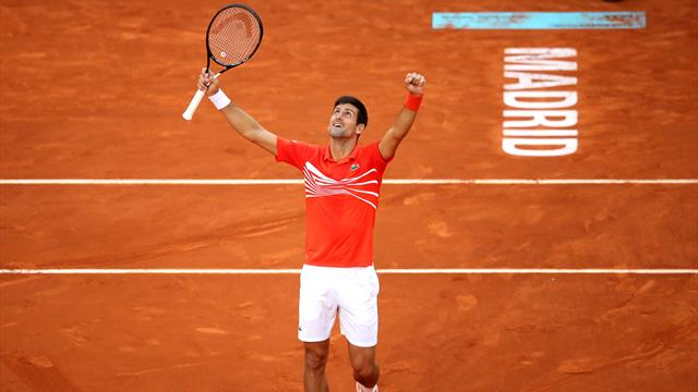 Djokovic claims Madrid title with straight-sets win over Tsitsipas