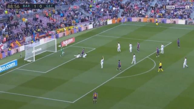 Месси побрился и забил, но гол переписали на защитника «Хетафе»