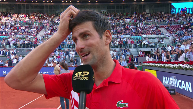 'I played some of my best tennis' – Djokovic on Madrid triumph