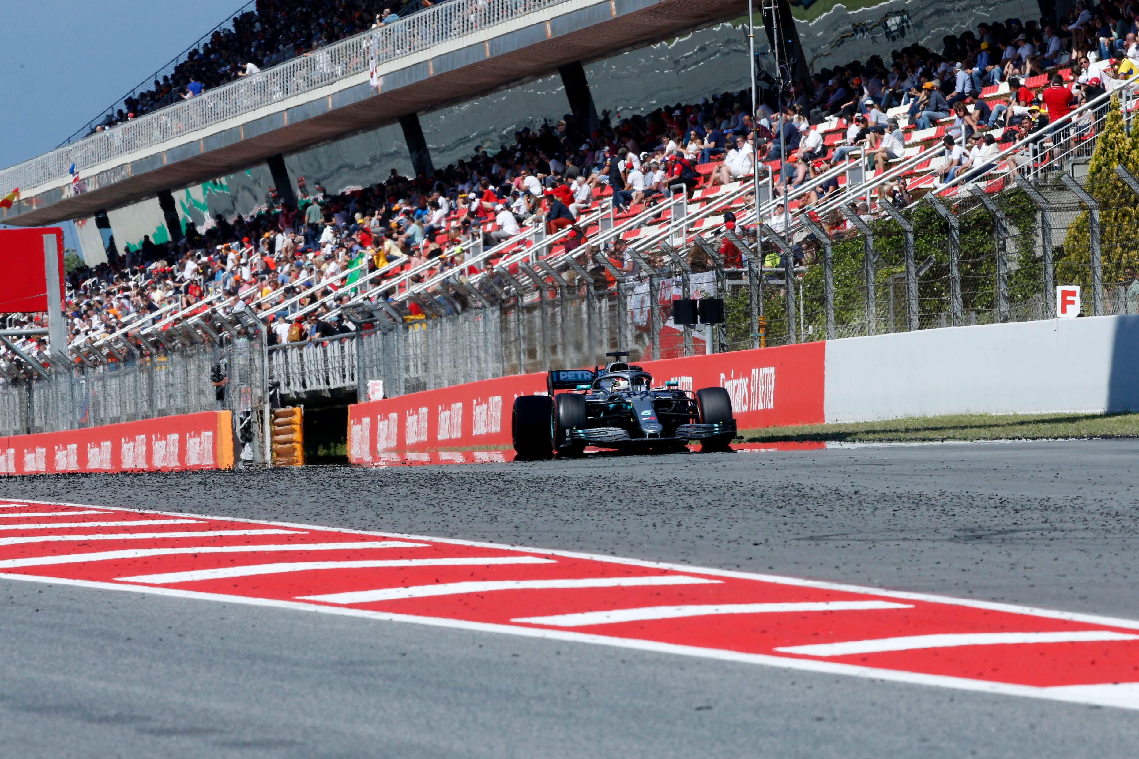 Lewis Hamilton (Mercedes) au Grand Prix d'Espagne 2019
