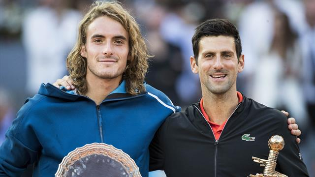 Highlights: Djokovic downs Tsitsipas in Madrid final