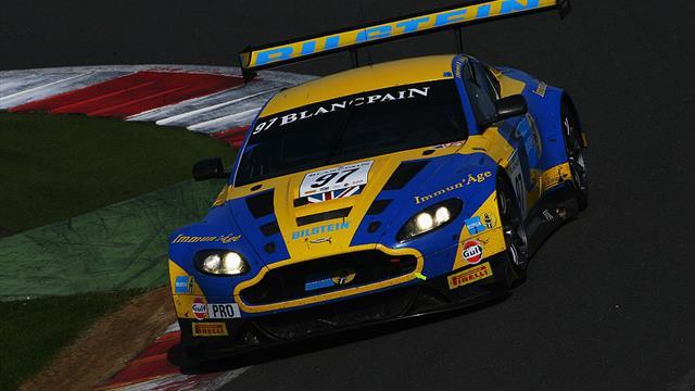 Circuito de Silverstone: Ferrari se impone en la Blancpain GT