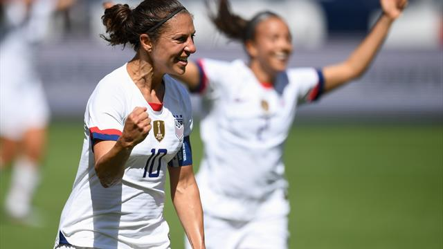 US beat South Africa in Women's World Cup warm-up