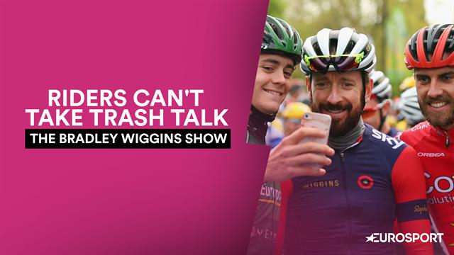 'Petty, sensitive' riders can't take trash talk